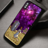Nebula Girl Tardis Doctor Who - iPhone X Case