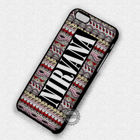 Nirvana Tribal Pattern - iPhone 7 6 5 5C SE Cases & Covers