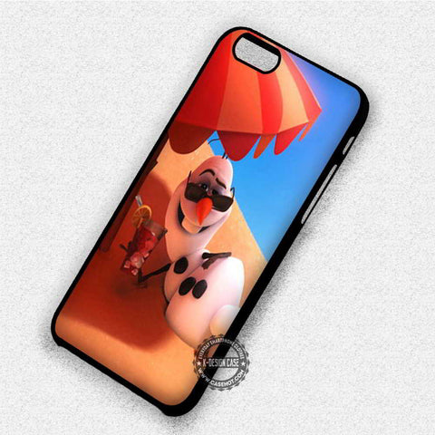 Olaf Frozen Sun Bathing - iPhone 7 6 Plus 5c 5s SE Cases & Covers