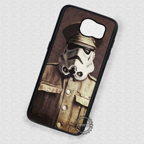 Old Funny Image Stormtrooper Vintage  - Samsung Galaxy S7 S6 S5 Note 7 Cases & Covers