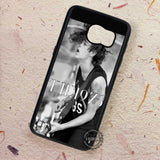 Stage Guitar Matt Healy The 1975 - Samsung Galaxy S7 S6 S5 Note 7 Cases & Covers