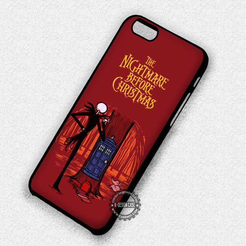 Tree Surface The Nightmare Before Christmas Tardis - iPhone 7 6 5 SE Cases & Covers