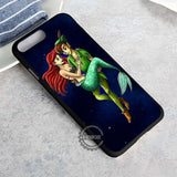Peterpan And Ariel Fan Art Disney - iPhone 8+ Case