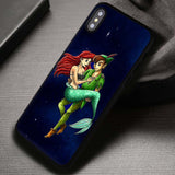 Peterpan And Ariel Fan Art Disney - iPhone X Case