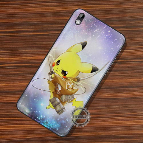 Pikachu Attack On Titan - LG Nexus Sony HTC Phone Cases and Covers