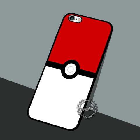 Poke Ball Pokemon - iPhone 7 6 5 SE Cases & Covers
