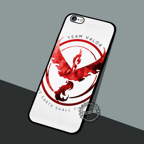 Pokemon Go Valor - iPhone 7 6 5 SE Cases & Covers