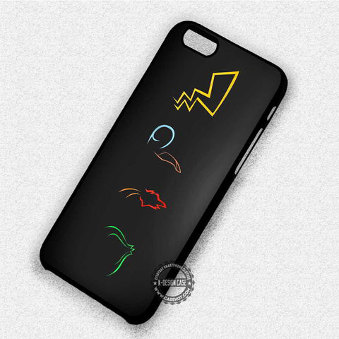 Pokemon Symbols Pikachu - iPhone 7 6 Plus 5c 5s SE Cases & Covers