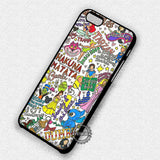 Princess and Character Collage - iPhone 7 6s 5c 4s SE Cases & Covers
