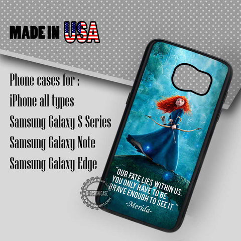 Princess and Her Arrows - Samsung Galaxy S7 S6 S5 Note 5 Cases & Covers