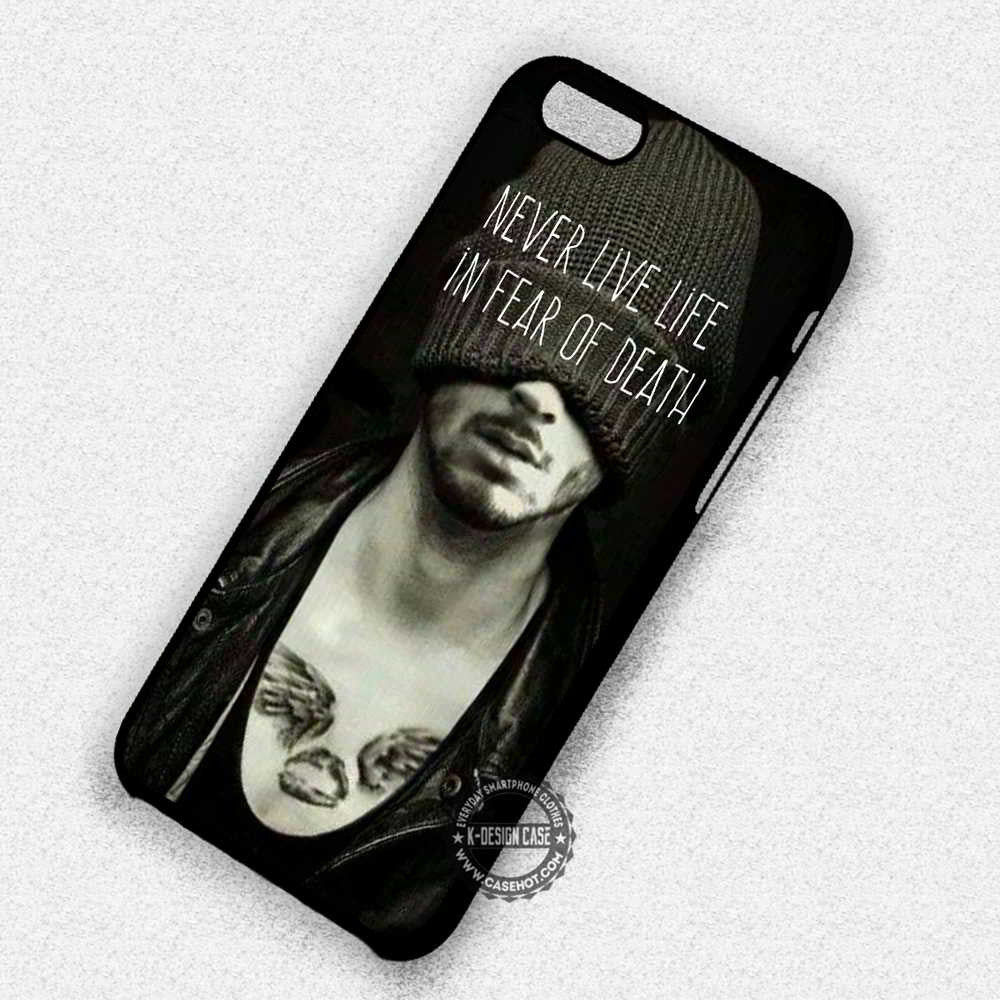 Zayn Malik And His Tattoos iphone case