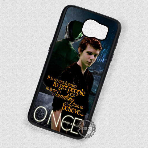 Quotes from Him Peter Pan - Samsung Galaxy S7 S6 S4 Note 5 Cases & Covers