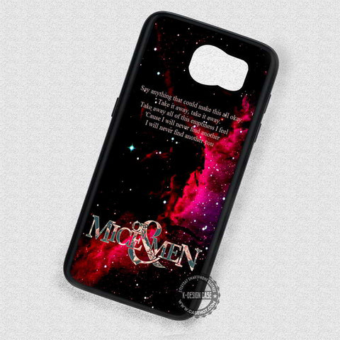 Nebula Of Mice and Man Band - Samsung Galaxy S7 S6 S5 Note 7 Cases & Covers