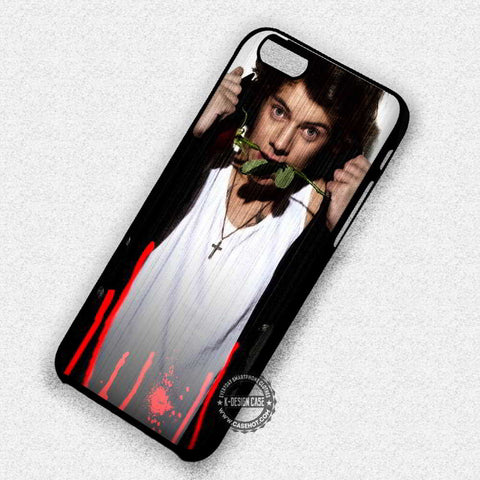 Red Rose Harry Style One Direction - iPhone 7 6 Plus 5c 5s SE Cases & Covers