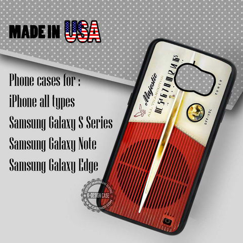 Retro Radio Vintage - Samsung Galaxy S7 S6 S5 Note 5 Cases & Covers