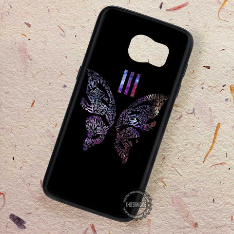 Butterfly Nebula Art Paramore - Samsung Galaxy S7 S6 S5 Note 7 Cases & Covers