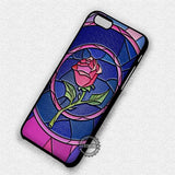 Rose Beauty and the Beast - iPhone 7 6 Plus 5c 5s SE Cases & Covers