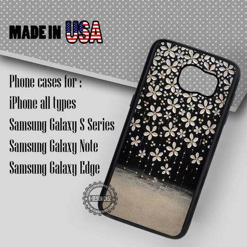 Sakura Drops Art - Samsung Galaxy S7 S6 S5 Note 5 Cases & Covers