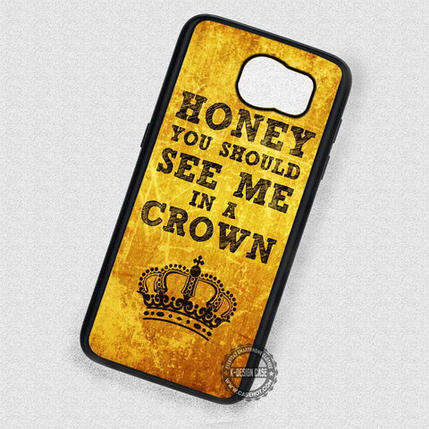 See Me in a Crown Jim Moriarty - Samsung Galaxy S6 S5 S4 Note 5 Cases & Covers