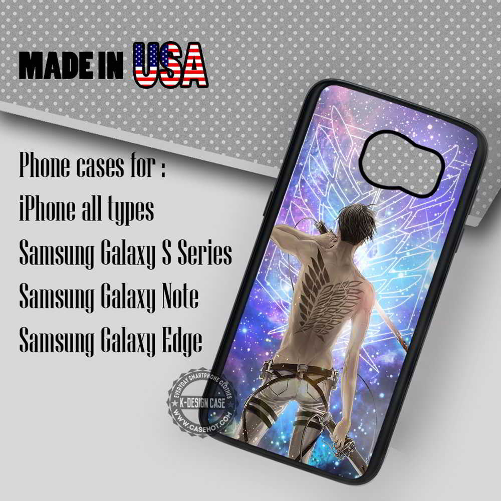 Sexy Levi and Tattoo - Samsung Galaxy S7 S6 S5 Note 5 Cases \u0026 Covers