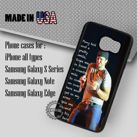 Shake Girls Luke Bryan - Samsung Galaxy S7 S6 S5 Note 5 Cases & Covers