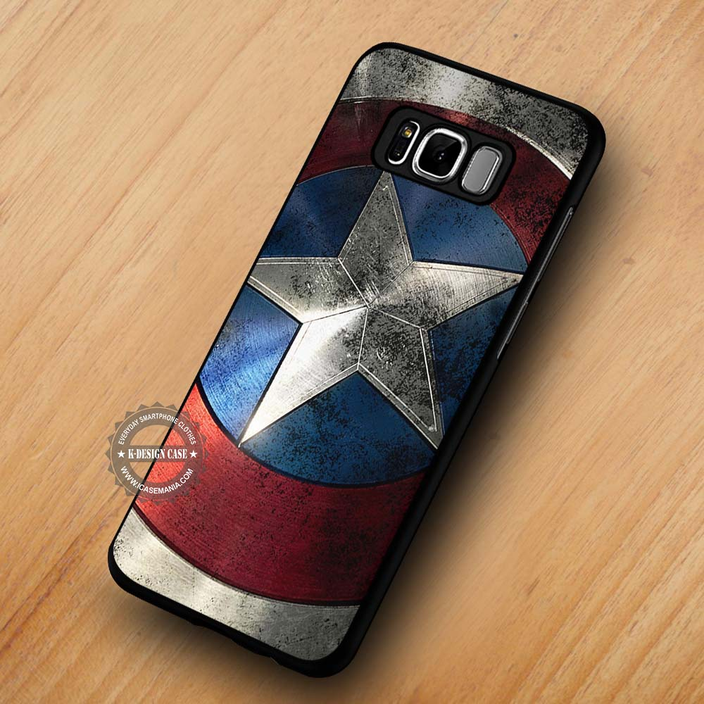 new style 458fb 4bbf4 Shield Captain America - Samsung Galaxy S8 S7 S6 Note 8 Cases & Covers  #SamsungS8