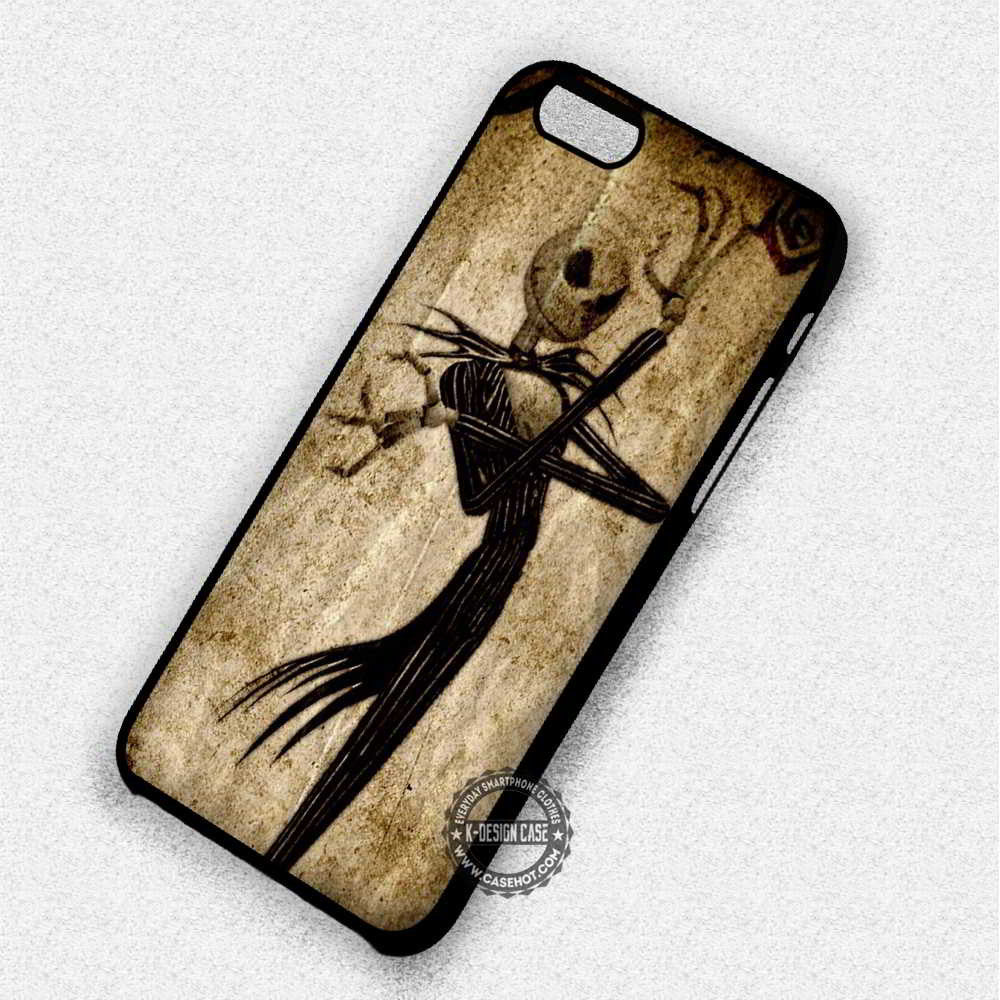 brand new 3ed0c 792cc Jack Skellington The Nightmare Before Christmas - iPhone 7 6 5 SE Cases &  Covers