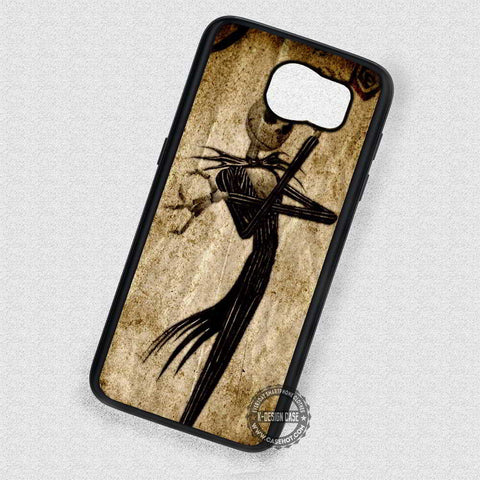 Jack Skellington The Nightmare Before Christmas  - Samsung Galaxy S7 S6 S5 Note 4 Cases & Covers