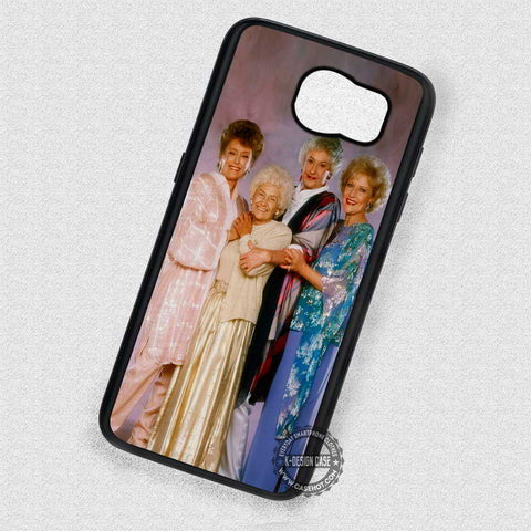Smiling Face The Golden Girls - Samsung Galaxy S7 S6 S5 Note 7 Cases & Covers