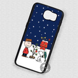 Snow Time Christmas Winter - Samsung Galaxy S7 S6 S5 Note 7 Cases & Covers