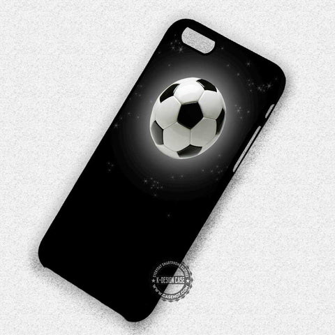 Soccer Night Moon Ball Shining Brightly - iPhone 7 6 Plus 5c 5s SE Cases & Covers