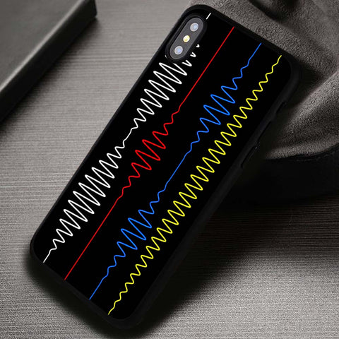 Sound Vibration Colors Arctic Monkeys - iPhone X Case