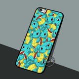 Squirtle Turtle Pokemon - iPhone 7 6 5 SE Cases & Covers