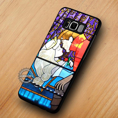Stained Glass Art Kissing Sleeping Beauty - Samsung Galaxy S8 Case