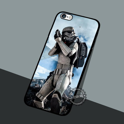 Stormtrooper Movie Cool - iPhone 7 6 5 SE Cases & Covers