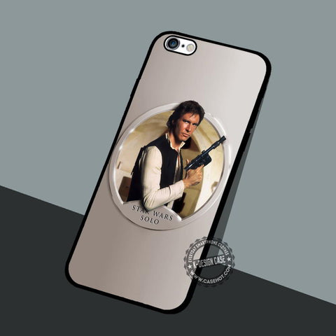 Han Solo Stars Wars - iPhone 7 Plus SE Cases & Covers