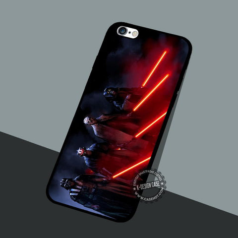 Movie Black Battles - iPhone 7 6 5 SE Cases & Covers