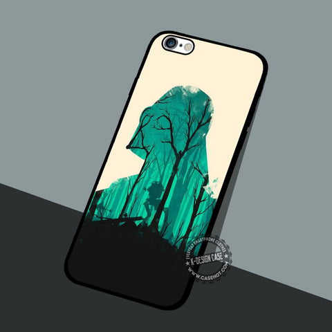 Olly Moss Star Wars - iPhone 7 6 5 SE Cases & Covers