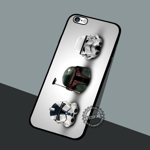 Stormtrooper Head - iPhone 7 6 5 SE Cases & Covers