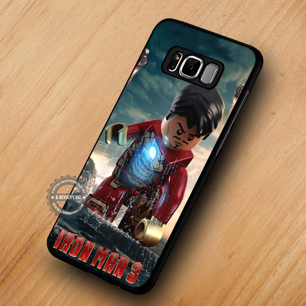 premium selection d51dc 5a4eb Iron Man Lego - Samsung Galaxy S8 S7 S6 Note 8 Cases & Covers #SamsungS8