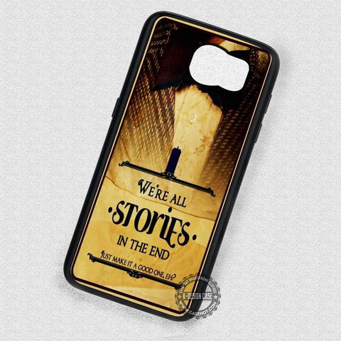 Stories Quote Funny Tardis - Samsung Galaxy S7 S6 S5 Note 7 Cases & Covers