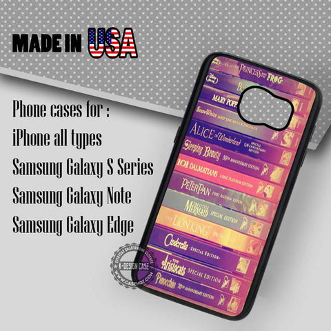 Story Books Collection - Samsung Galaxy S7 S6 S5 Note 5 Cases & Covers