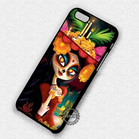 Sugar Skull Mask Girl - iPhone 7 6s 5c 4s SE Cases & Covers