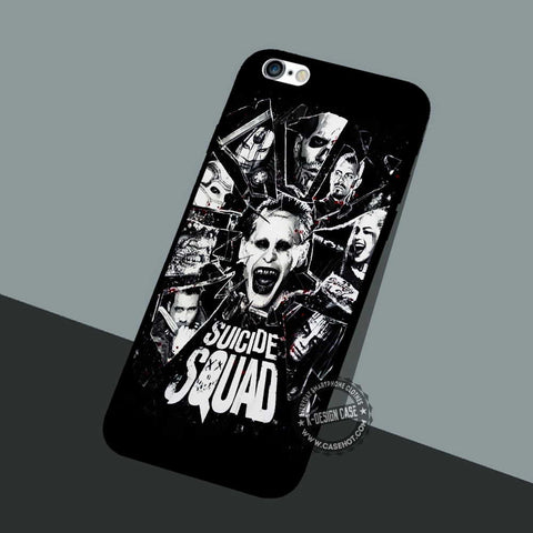 Shattered Slass Dc Comics - iPhone 7 6 5 SE Cases & Covers