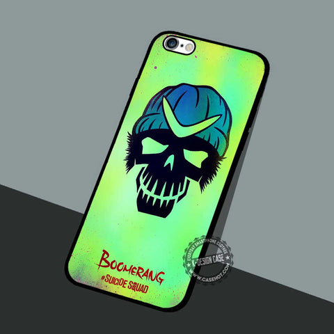 Captain Boomerang Character - iPhone 7 6 Cases & Covers