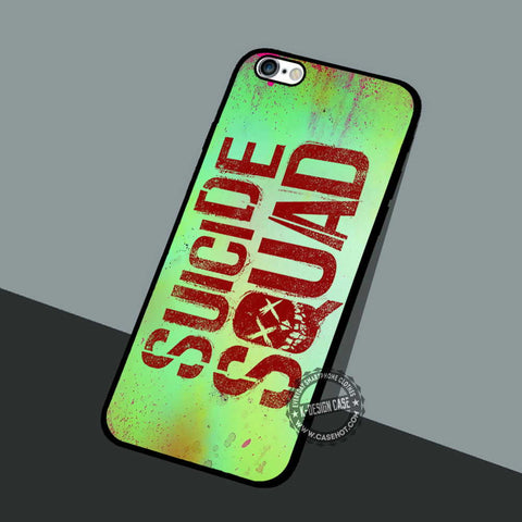 Suicide Squad Logo - iPhone 7 6 5 SE Cases & Covers