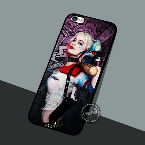 Suicide Squad Poster Harley  - iPhone 6 5 Cases & Covers