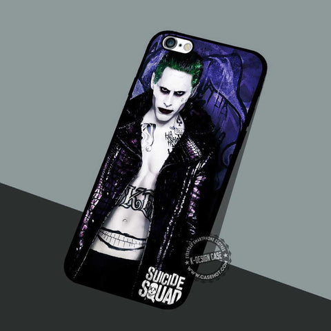 Suicide Squad Poster Joker - iPhone 7 6 SE Cases & Covers