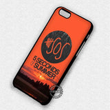Sunset 5 Seconds of Summer - iPhone 7 6S 5 SE 4 Cases & Covers