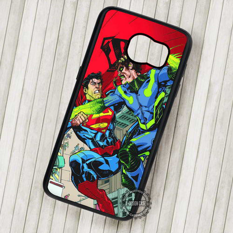 Superhero Superman VS Green Arrow - Samsung Galaxy S7 S6 S5 Note 7 Cases & Covers